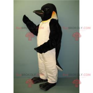 Pingvin maskot med svart hode - Redbrokoly.com