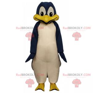 Blaues Pinguin-Maskottchen - Redbrokoly.com
