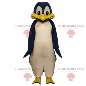 Maskot modrý tučňák - Redbrokoly.com