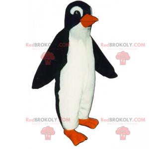 Uśmiechnięty maskotka pingwina - Redbrokoly.com