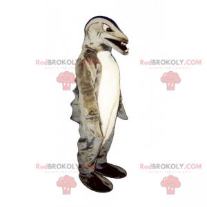 Piranha maskot - Redbrokoly.com