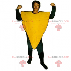 Pizza mascot without garnish - Redbrokoly.com