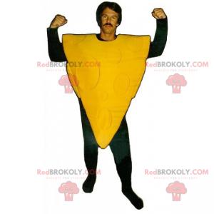 Pizza mascotte zonder garnering - Redbrokoly.com