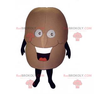 Smiling potato mascot - Redbrokoly.com
