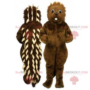 Porcupine mascot - Redbrokoly.com