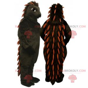 Czarna maskotka jeżozwierz - Redbrokoly.com