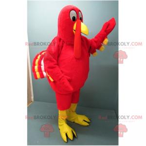 Red turkey mascot - Redbrokoly.com