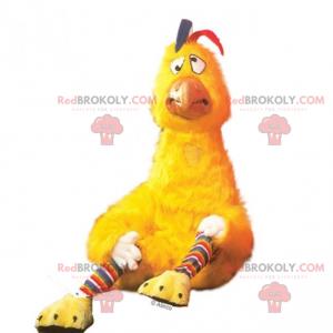 Zmatený kuřecí maskot - Redbrokoly.com