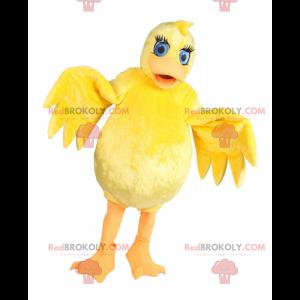 Maskotka żółta laska z niebieskimi oczami - Redbrokoly.com