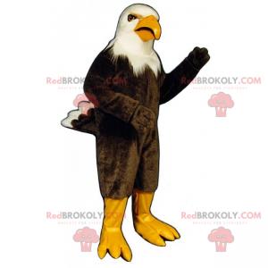 Threatening raptor mascot - Redbrokoly.com