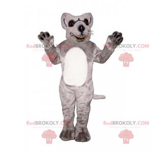 White-bellied rat mascot - Redbrokoly.com