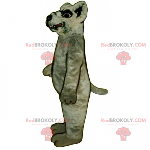 Krysa maskot s velkými zuby - Redbrokoly.com