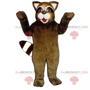 Smiling raccoon mascot - Redbrokoly.com