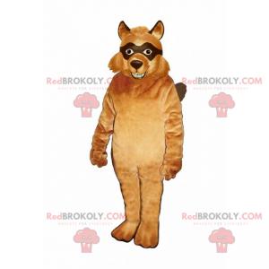 Fox maskot med svarte øyne - Redbrokoly.com