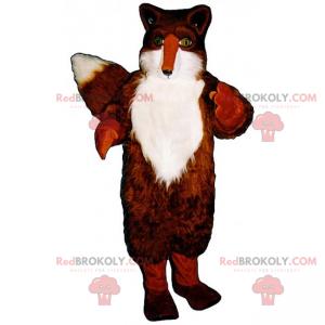Red fox mascot - Redbrokoly.com