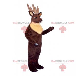 Longwood reindeer mascot - Redbrokoly.com