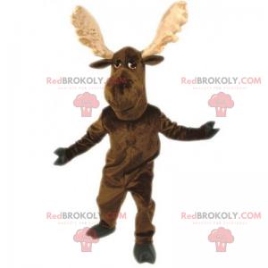 Soft reindeer mascot - Redbrokoly.com