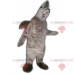 Šedý žralok maskot - Redbrokoly.com