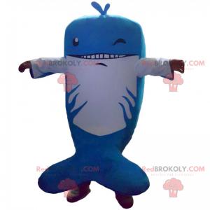 Maskot žralok kladivoun s okem zákazníka - Redbrokoly.com