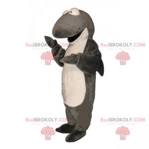 Soft Shark Mascot - Redbrokoly.com