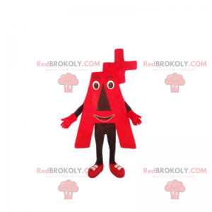 Maskot Rhesus A + - Redbrokoly.com