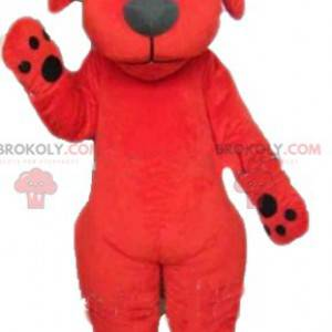 Giant red and black dog Clifford mascot - Redbrokoly.com