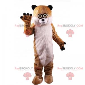 Small-eyed rodent mascot - Redbrokoly.com