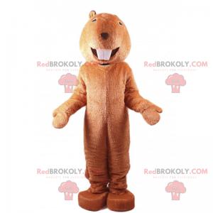 Rodent mascot with big teeth - Redbrokoly.com