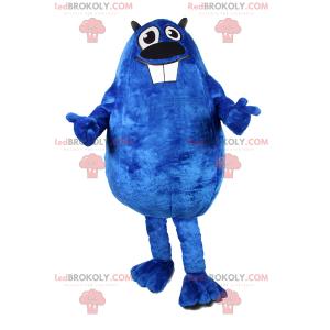 Blaues Nagetier-Maskottchen - Redbrokoly.com