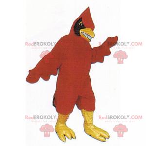Maskot červené hrdlo - Redbrokoly.com