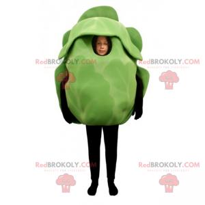 Salad mascot - Redbrokoly.com