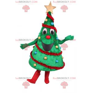 Zdobený vánoční strom maskot - Redbrokoly.com
