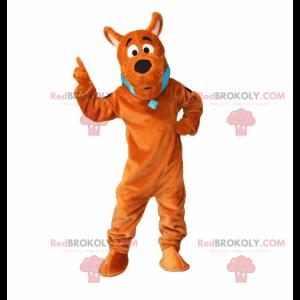 Mascotte van Scooby-Doo - Redbrokoly.com