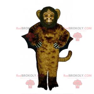 Monkey mascot with wings - Redbrokoly.com