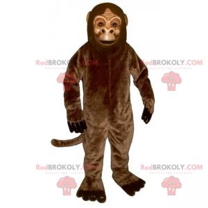 Klasyczna brązowa małpa maskotka - Redbrokoly.com