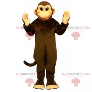 Lächelndes Affenmaskottchen - Redbrokoly.com