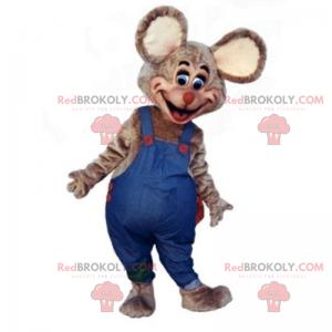 Maskotka myszy z dużymi uszami - Redbrokoly.com