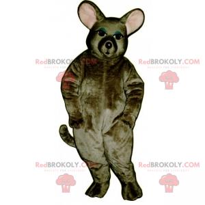Myš maskot s kulatými ušima - Redbrokoly.com