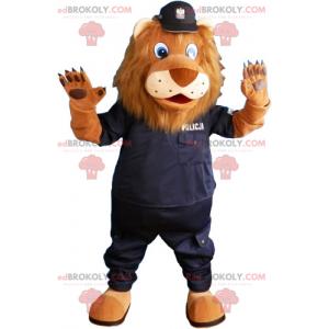 Mysz maskotka z hełmem strażaka - Redbrokoly.com