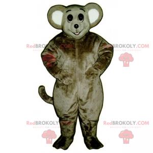 Myš maskot s velkým úsměvem - Redbrokoly.com