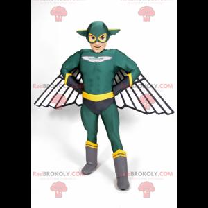 Super hero mascot - Redbrokoly.com