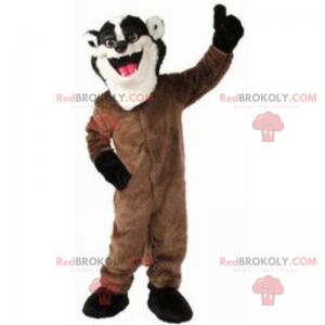 Smilende surikatmaskott - Redbrokoly.com