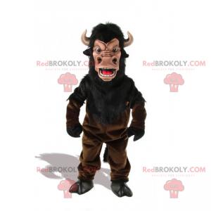 Bull maskot med små horn - Redbrokoly.com