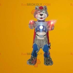 Kyborg medvídek maskot - Redbrokoly.com