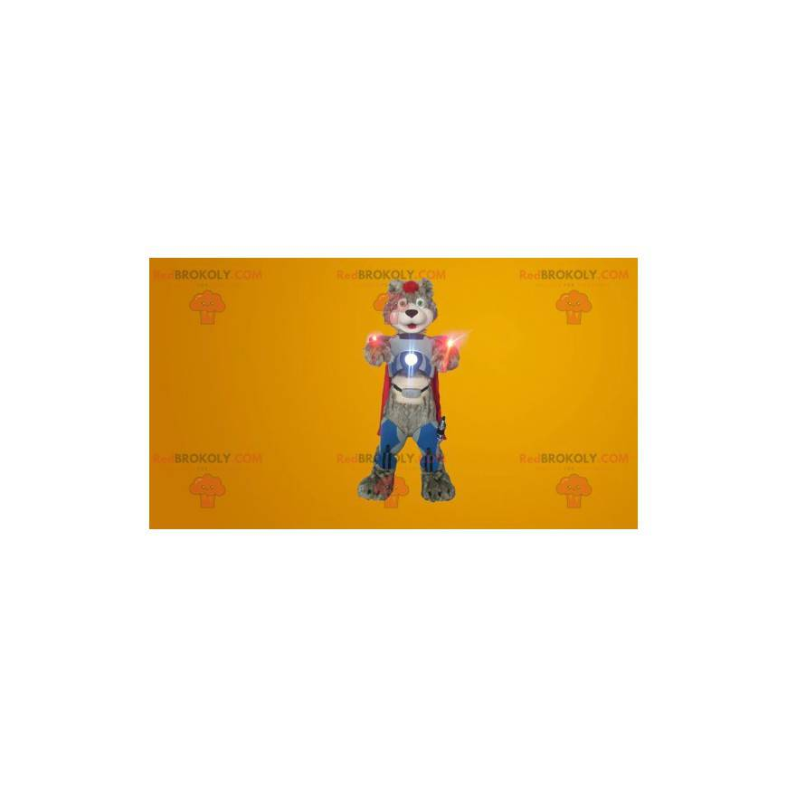 Cyborg Teddy Bear Mascot - Redbrokoly.com