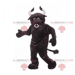 Black bull mascot - Redbrokoly.com