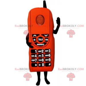 Mobile phone mascot - Redbrokoly.com