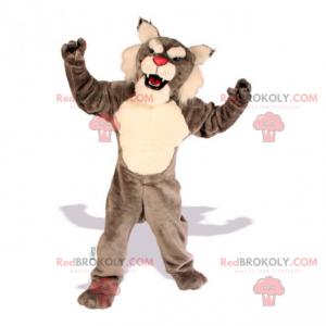Rotnasen-Tiger-Maskottchen - Redbrokoly.com