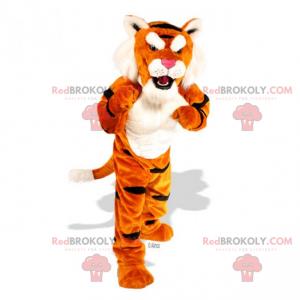 Soft-haired tiger mascot - Redbrokoly.com