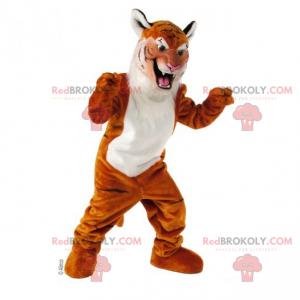 Maskot tygr bělobřichý - Redbrokoly.com